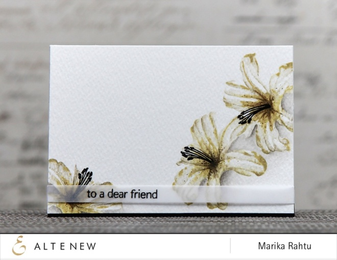 Stamps used: Layered Lily and Birthday Greetings